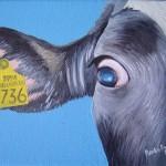 """736 # 9"" 13 x 18 cm Sold"