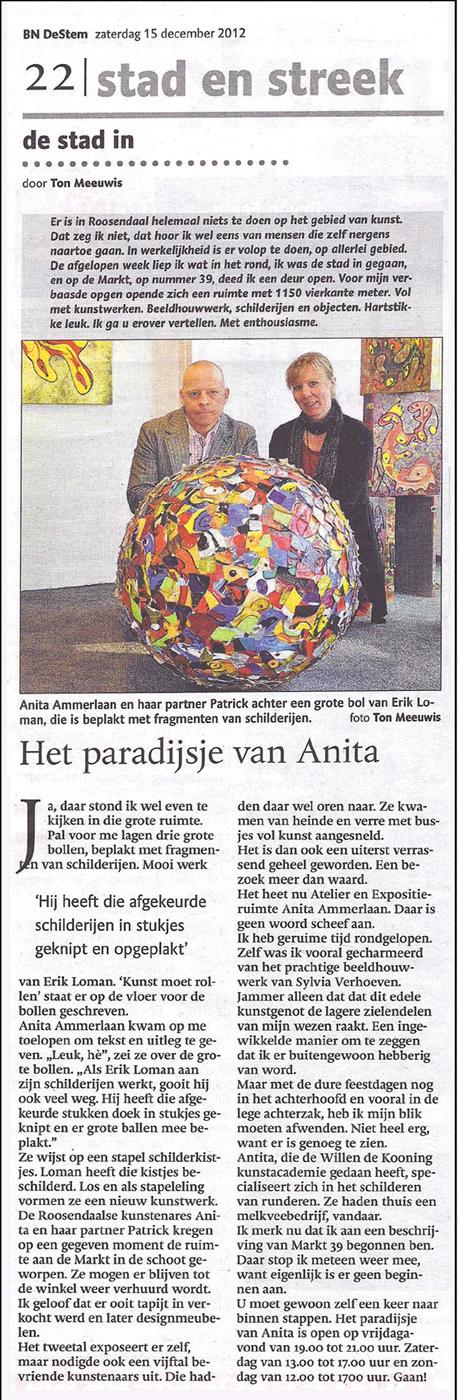 """Paradijsje van Anita"""