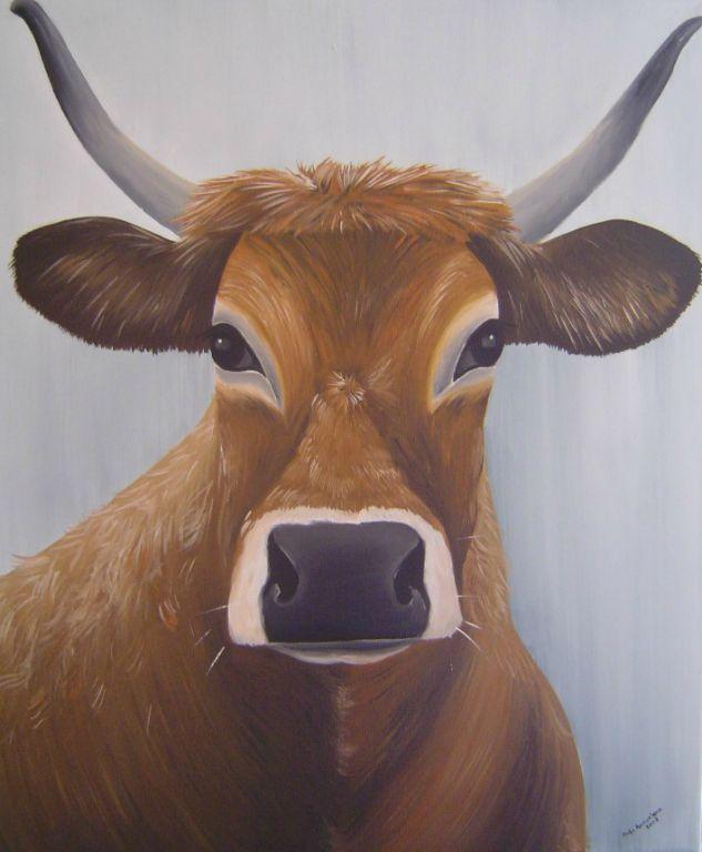 """Frans Vee # 3"" 60 x 50 cm € 295,-"