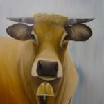 """Frans Vee # 2"" 60 x 50 cm € 295,-"