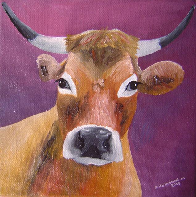 """Frans Vee # 4"" 20 x 20 cm € 50,-"
