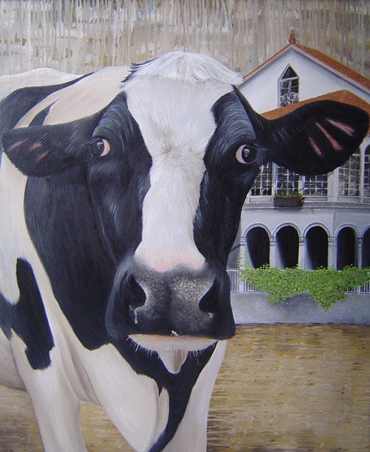 """""""Mel"""" 110 x 90 cm € 1150,-"""