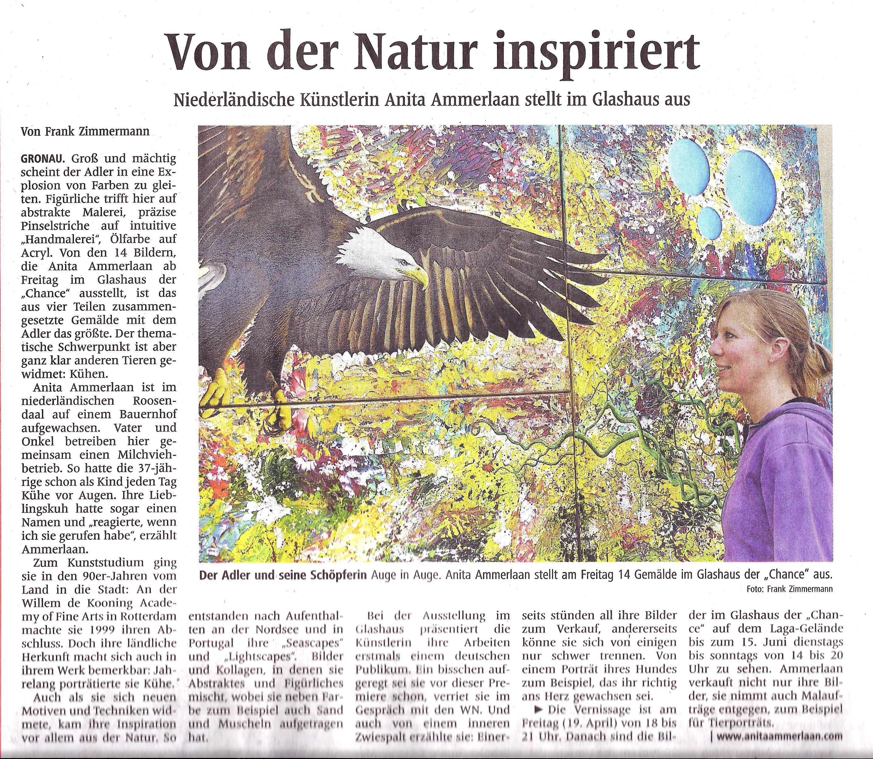 Westfälische Nachrichten - Mittwoch 17 April 2013